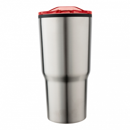 590ml stainless steel mug with clear lid