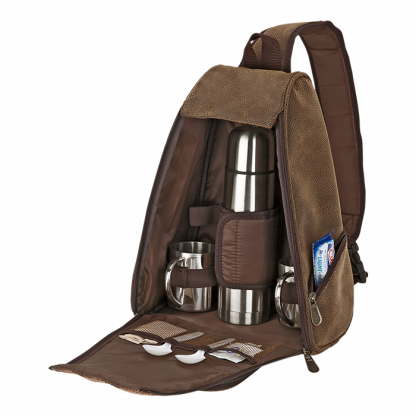 out of africa sling bag coffee set