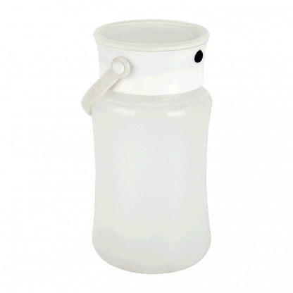 silicone outdoor lamp with storage compartment